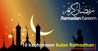 Keutamaan bulan ramadhan